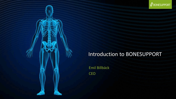 Bonesupport CMD 2018