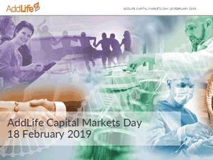 AddLife kapitalmarknadsdag 2019