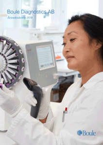 Boule Diagnostics årsredovisning 2018