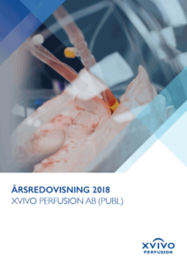 Xvivo Perfusion årsredovisning 2018