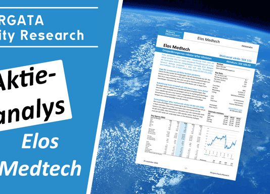 Elos Medtech Aktieanalys Murgata Equity Research: 24 november 2020