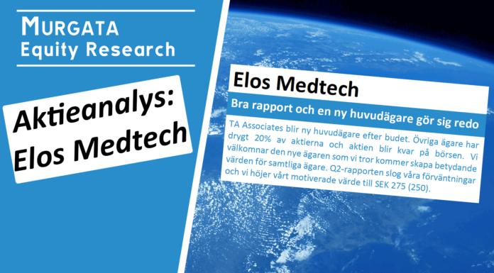Elos Medtech: Bra rapport och en ny huvudägare gör sig redo - Murgata Equity Research - Aktieanalys